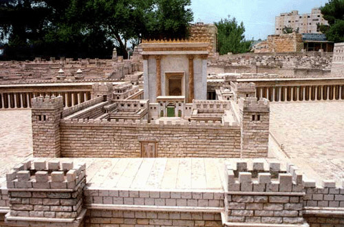 jésus présenté au temple