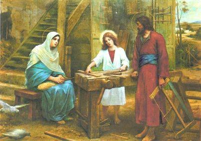 MÉDITATIONS CHRÉTIENNES POUR TOUTE L`ANNÉE - Pere Buse`e - Cie de Jésus - année 1708 091nazareth202stefamille